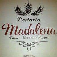Photo taken at Padaria Madalena by Del L. on 9/15/2013