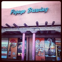 Photo taken at Papago Brewing Co. by Scott D. on 2/22/2013