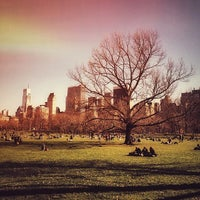 Photo taken at Sheep Meadow by Zeca N. on 4/8/2014