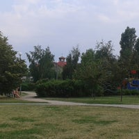 Photo taken at Park Chomicza by Anna E. on 7/27/2013