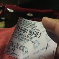 Photo taken at Shaw Theatres by Rachel L. on 3/23/2017