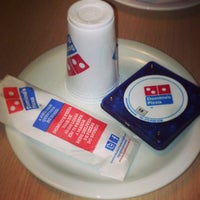 Photo taken at Domino's Pizza by Thiago S. on 5/4/2013