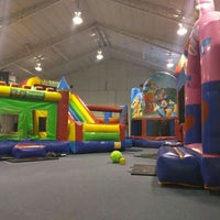 Photo taken at Bounce Fun Center by Dan P. on 1/17/2016