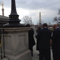 Photo taken at White House Southwest Appointment Gate by Francis P. on 3/21/2014