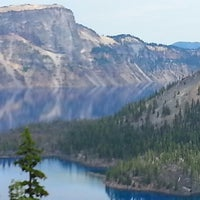 Photo taken at Crater Lake National Park by Tom V. on 7/24/2013