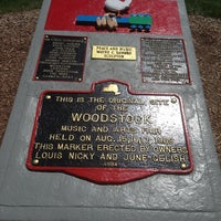 Photo taken at Woodstock original site by David L. on 8/4/2013