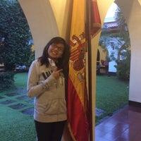 Photo taken at Casino Espanol De Manila by Bea B. on 7/17/2014