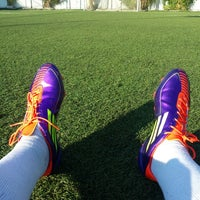 Photo taken at Champions Mini Football Club by Toly N. on 5/6/2014