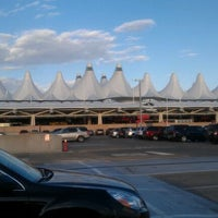 Photo taken at DIA Parking Garage by Justin R. on 4/22/2012