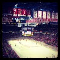 Photo taken at Joe Louis Arena by Leah L. on 4/1/2013