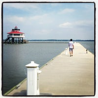 Photo taken at The Choptank River Lighthouse by Melissa F. on 9/1/2013