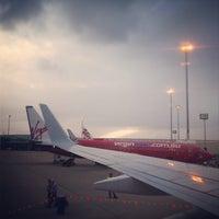 Photo taken at Brisbane Airport (BNE) by Raditya F. on 1/21/2013