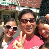 Photo taken at Santa Claus Christmas Store by Andy G. on 6/5/2016