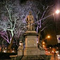 Photo taken at Sir Hugh Myddelton Statue by Gurjeet S. on 1/8/2013