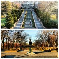 Photo taken at Meridian Hill Park by Gurjeet S. on 12/15/2012