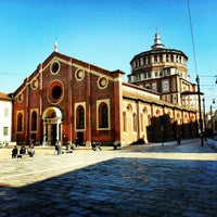Photo taken at Santa Maria delle Grazie by Gurjeet S. on 2/26/2013