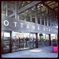 Photo taken at VIA Rail Ottawa by Gurjeet S. on 11/7/2012