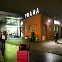 Photo taken at Prague Central Bus Station by Gurjeet S. on 2/18/2013
