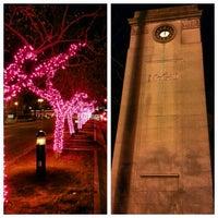 Photo taken at Roddick Gates (McGill) by Gurjeet S. on 11/8/2012