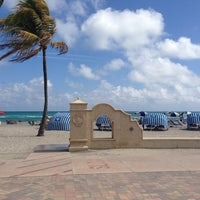 Photo taken at Marriott Hollywood Beach by Isady V. on 2/22/2013