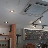 Photo taken at Cafe De Aya by Mia on 6/25/2014