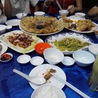 Photo taken at Batu Lintang Seafood by Adam_st♏ on 4/30/2014