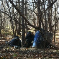 Photo taken at Gateway Paintball Park by Greg S. on 11/24/2012