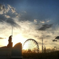 Photo taken at Six Flags St Louis by Greg S. on 4/15/2013