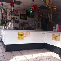Photo taken at Paletas Y Helados La Única by Sarita M. on 12/1/2012