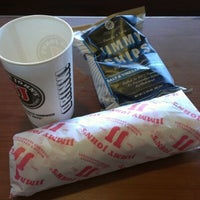 Photo taken at Jimmy John's by Andrew E. on 10/12/2012
