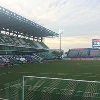 Photo taken at Leo Stadium by Chotiwat M. on 7/8/2017