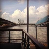Photo taken at ท่าเรือพระราม 7 (Rama 7 Pier) N24 by Chotiwat M. on 7/15/2013