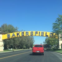 Photo taken at The Bakersfield Sign by Kara D. on 3/19/2014