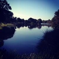 Photo taken at Centennial Park by Robert C. on 7/25/2013