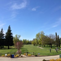 Photo taken at Ancil Hoffman Golf Course by Joseph N. on 3/24/2013