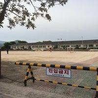 Photo taken at 신라초등학교 by Soy K. on 5/4/2014