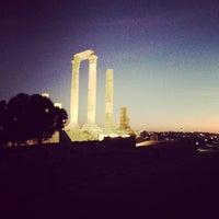 Photo taken at Amman Citadel by Omar B. on 10/29/2012