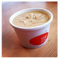 Photo taken at Soup en Zo by Esther M. on 12/14/2012