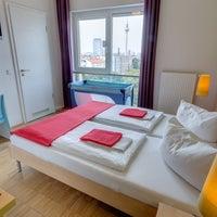 Photo taken at MEININGER Hotel Berlin Alexanderplatz by MEININGER Hotels on 8/18/2014