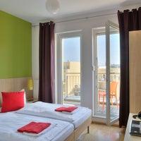 Photo taken at MEININGER Hotel Berlin Alexanderplatz by MEININGER Hotels on 3/17/2014