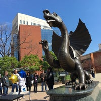 Photo taken at Drexel's Dragon by Kelley C. on 4/10/2016