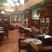 Photo taken at Café de Pombo by Guillermo G. on 2/5/2013