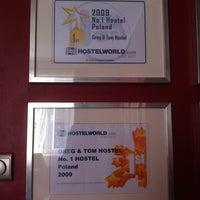 Photo taken at Greg&Tom Hostel Krakow by Naoko M. on 10/17/2012