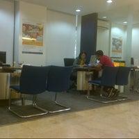 Photo taken at Bank Mandiri Menara Thamrin by Fahmi M. on 2/20/2014