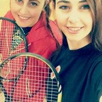 Photo taken at tenis kortu spor salonu by Melis K. on 10/18/2016