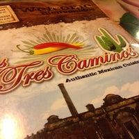 Photo taken at Los Tres Caminos by Chris E. on 12/16/2012