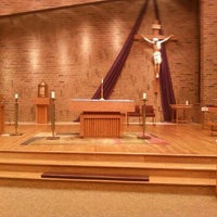 Photo taken at St. Elizabeth Ann Seton by Matthew B. on 4/14/2014