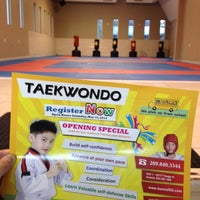 Photo taken at Aurora Taekwondo by Di S. on 2/23/2014
