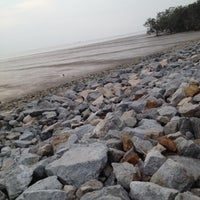 Photo taken at Pontian Sea Side by Tykah S. on 4/1/2014