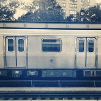 Photo taken at MTA Subway - Marcy Ave (J/M/Z) by Simon on 10/24/2013